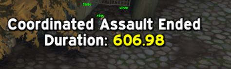 Coordinated assaut