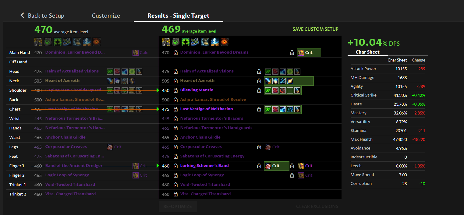 High Parse Bm Hunter 8 3 Updated 90k Dps 29 July 20 Patch 8 0x Wow Lazy Macros